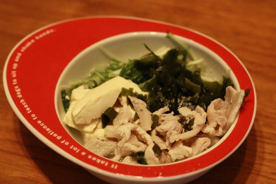 豚しゃぶ風湯豆腐